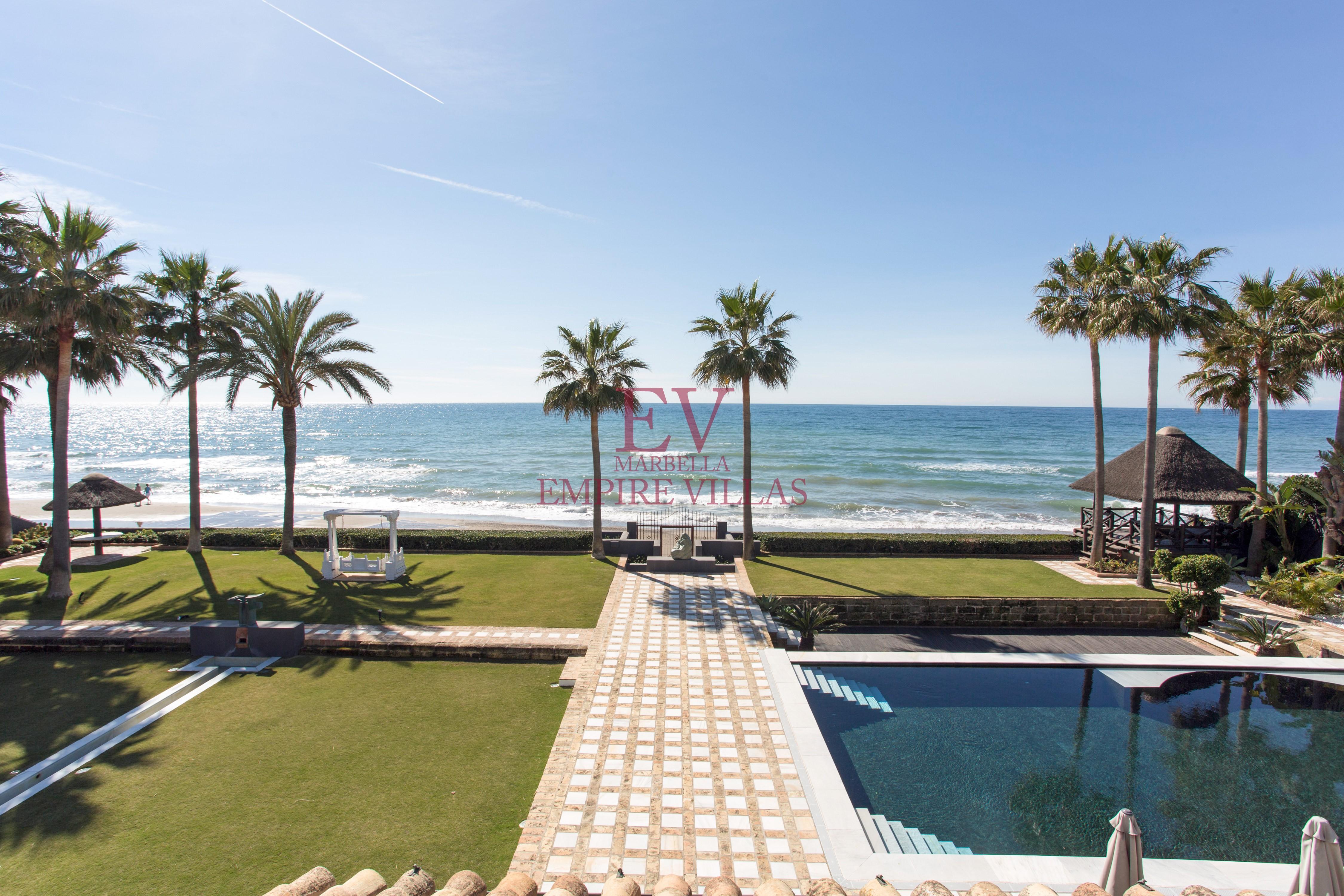 Rent Frontline Beach Villa Los Monterosempire Villas Marbella